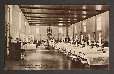 Ulster Volunteer Force Hospital For Wounded Soldiers & Sailors Vintage Postcard