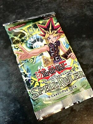 Spell Ruler Sealed Booster Pack Europe English Edition Yugioh Cards