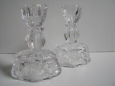 Small Crystal Candle Sticks