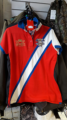 Lansdown Ladies Wilmington polo shirt in Red BNWT