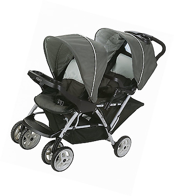 Graco Duoglider Click Double Stroller Car Seat Travel System Baby Infant Pet NEW