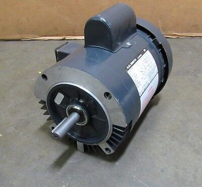 A.o. Smith 44450 1/2Hp .5Hp Electric Motor 115/230V 1Ph 1725Rpm 56C