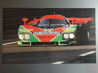 1992 Mazda Group C 24 Hrs of Le Mans Print, Picture, Poster RARE!! Awesome L@@K