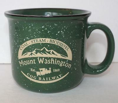 MOUNT WASHINGTON COG RAILWAYS Coffee Cup Est. 1869 Mug Coal Steam Biodiesel