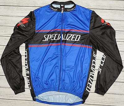 SPECIALIZED FACTORY TEAM - lightweight retro mtb cycling JACKET - size M
