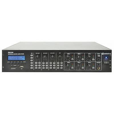 Adastra RM306 6-zone mixer-amplifier + USB/SD/FM/BT