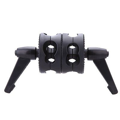 Dual Swiveling Grip Head Angle Clamp for Photo Studio Boom Arm Reflector Hold FK