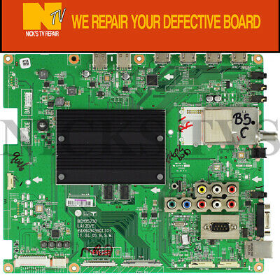 Mail-in Repair Service For LG 55LW6500 Main Board 1 YEAR WARRANTY