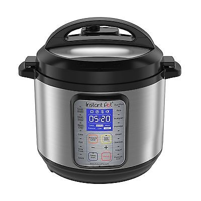 Instant Pot IP-DUO Plus60 Electric Pressure Cooker 6 quart 9-in-1 Stainless S...