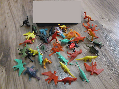 Little Dinosaurs, and Critters Lot of 36