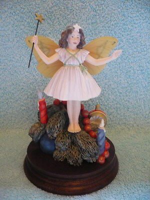 Limted Edition Border Fine Arts XMAS TREE Flower Fairy figurine with certificate
