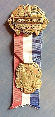Honored Guest Badge To 1956 Democratic National Convention In Chicago