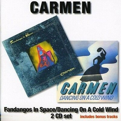 Carmen - Fandangos In Space/dancing On A Cold Wind 2 Cd New+
