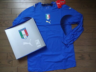 Italy 100% Authentic Player Issue Jersey Shirt L 2006/07 Home LS Still BNWT