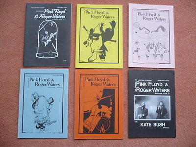 16 different PINK FLOYD & Roger Waters AMAZING PUDDING magazines 1988-1993  RARE