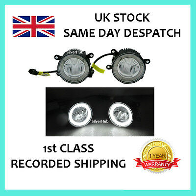 For Range Rover Sport 2005-On Cree Led Drl Daytime Running Lights Fog Lamp Kit