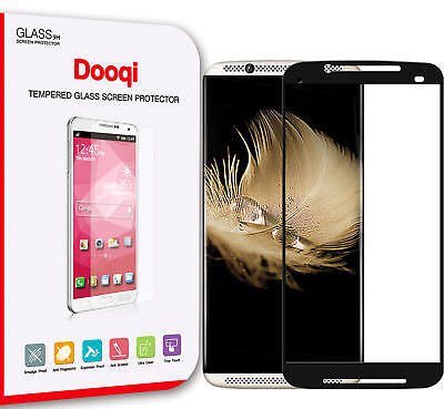 Dooqi Premium Full Coverage Tempered Glass Screen Protector for ZTE Axon 7