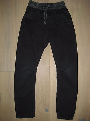 Boys Next black casual trousers Age 7yrs