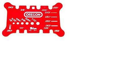 OREGON GUIDE BAR AND CHAIN MEASURING TOOL, fits MOST BRANDS