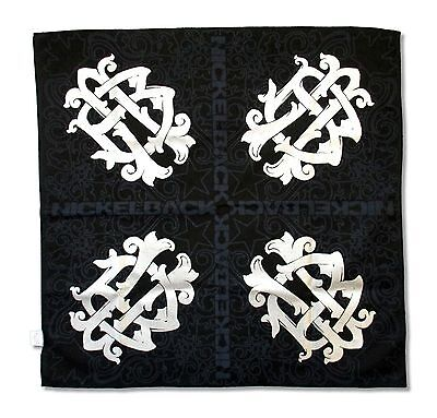 Nickelback Ornate Logo Black Bandana New