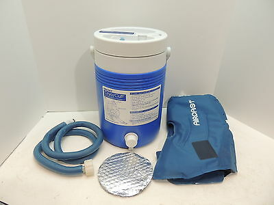 Aircast Cryo Cuff Cold Water Compression Therapy KNEE MEDIUM Gravity Fed System