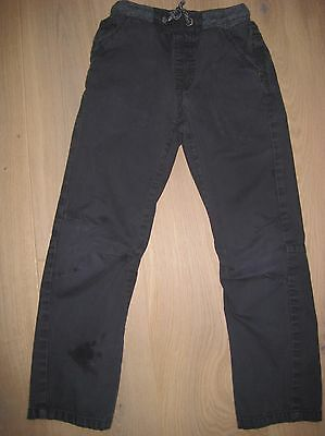 Boys George Navy blue casual trousers Age 7-8yrs