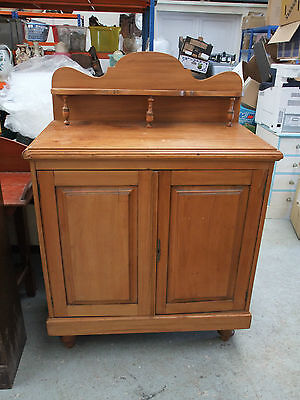 Victorian Stripped & Polished Satin Walnut Chiffonier c.1880 [4300]