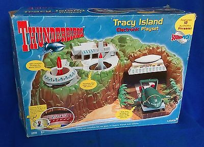 Thunderbirds Tracy Island electronic playset & vehicles - Carlton Toys 2000