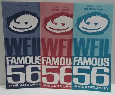 3 WFIL Famous 56 Charts, Top 56 Singles 1967