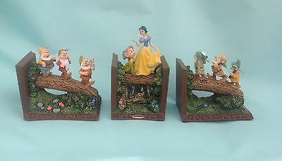 The Bradford Exchange 'Snow White And The Seven Dwarfs' Bookend Collection
