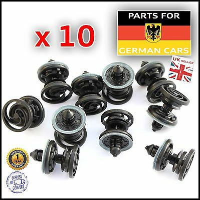 VW Passat (B7) Golf (Mk6) Polo Door Card Trim Panel Retaining Clip Fastener x10