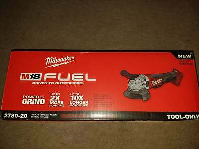 """Milwaukee 2780-20 M18 FUEL™ 4-1/2"""" / 5""""Grinder, Paddle Switch No-Lock Tool Only"""