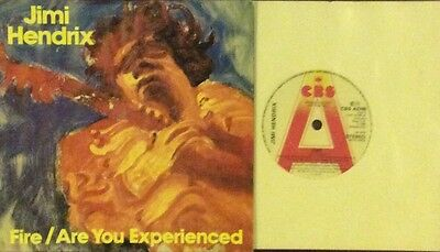 Jimi Hendrix Fire/Are You Experienced  Picture Sleeve Demo