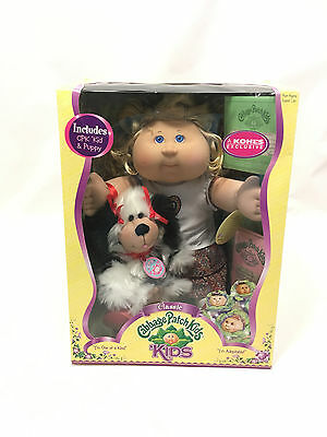 Rare New Cabbage Patch Doll with a CPK Puppy