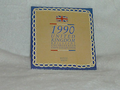 Lot  9  United Kingdom Coin Collection 1990 Brilliant Uncirculated
