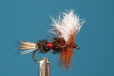 12QTY WULFF  ROYAL  Fly Fishing Flies size14
