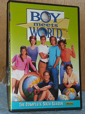 Boy Meets World: The Complete Sixth Season (DVD, 2011, 3-Disc Set) TV Series