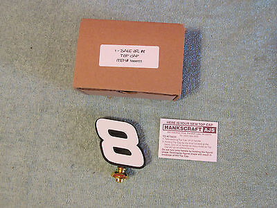 BUDWEISER BEER Tap Handle Dale Earnhardt Jr # 8 TOPPER mint never used in box