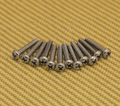 004-8631-049 Fender Stratocaster/Tele Guitar Pickup Mounting Screws 6-32 X 3/4""