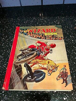 The Wizard Annual Book for Boys 1949 edition in VG condition