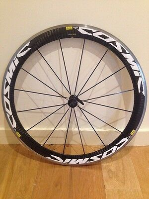 Mavic Cosmic Carbone SL Front Wheel Clincher 700C No Rim Tape