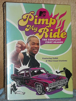 Pimp My Ride - The Complete First Season (DVD, 2005) TV Series