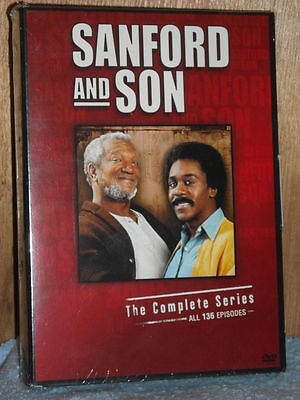 Sanford and Son - The Complete Series (DVD, 2008, 17-Disc Set) Tv Show