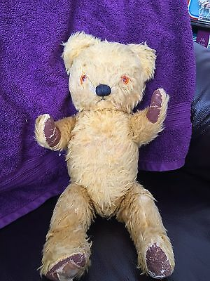 Vintage Chad Valley Teddy Bear Circa 1950s