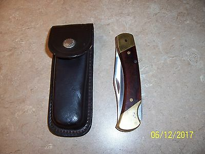 Schrade Vintage LB7 Folding Knife With Original Sheath Made in USA • $14.95