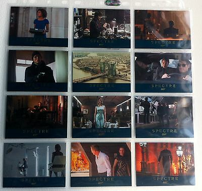 James Bond Archives 2016 Spectre - Lot Of 12 Spectre Gold Parallel Cards