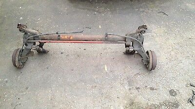Peugeot 206 Rear Axle Drum Brake Complete NON ABS