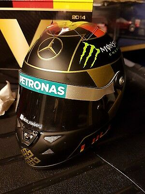 Flawed nico rosberg mercedes amg f1 2014 world cup 1/2 scale helmet