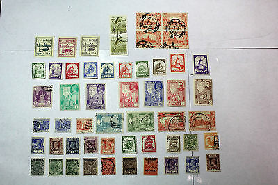 Lot of 49 Burma  Postal  Postage Stamps  Mixed  Collection  BURM001