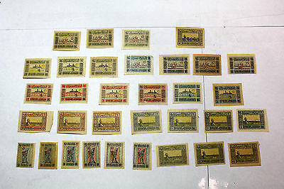 Lot of 33 Azerbaijan  Postal  Postage Stamps NM Multi set Collection    AZER001